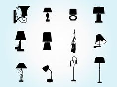 Lamp Silhouette Pack