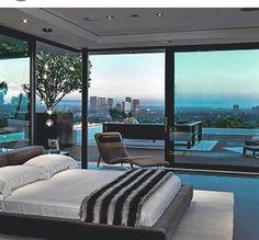 Home bedroom view