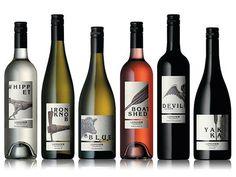 Longview Wine package design