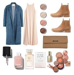 """""""Frederiksbørg"""" by ltmorris on Polyvore featuring Sandy Liang, Mollini, Gucci, Terre Mère, Chanel, Tory Burch and Herbivore Botanicals"""