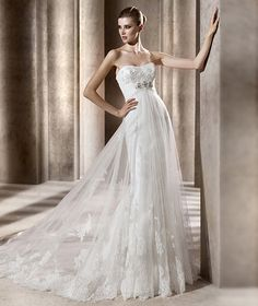 Another Pronovias design that is simply stunning!