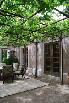 """""""Tell me, what is it you plan to do with your one wild and precious life? Outdoor Pergola, Outdoor Rooms, Backyard Patio, Backyard Landscaping, Outdoor Gardens, Outdoor Living, Outdoor Decor, Modern Pergola, Pergola Plans"""