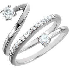 14kt white gold diamond ring. Find it at a jeweler near you: www.stuller.com/locateajeweler