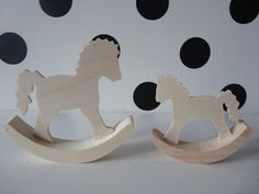 Set of 2 wooden rocking horses, wood standing decor, horse ornament, unfinished wood, wood for decoupage, nursery room, wooden shapes, horse Craft Supplies & Tools  Woodworking Supplies  Wood Shapes  wood shapes  wood decoration  wood for decoupage decoupage  unfinished wood  wooden horse  rocking horse  wooden shapes  horse decoration  wooden unicorn wooden shape  wooden horsers  rocking horses
