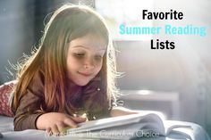 We've got a great line-up for you all here today at The Curriculum Choice and it's all about books, books and more books. Favorite Summer Reading Lists!