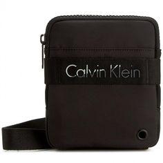 Brašna CALVIN KLEIN BLACK LABEL - Madox Mini Flat Crossover K50K502277  001