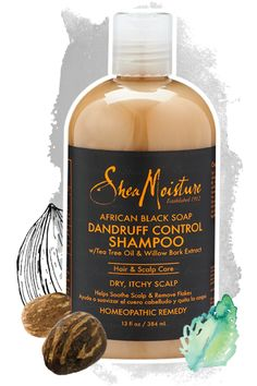 African Black Soap Dandruff Control Shampoo - Hair - Products A Better Way to Beautiful Since 1912.