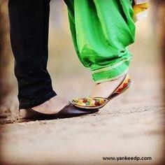 girls wedding dresses,couples dp,punjabi suit: punjabi couple dp for whatsapp Traditional Indian shoes - ladies shoes of Punjab CLICK VISIT link to read more. Get your punjabi jutti today.