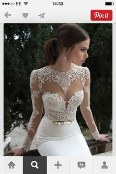 Dress: white, , prom, lace, gold, long, beautiful