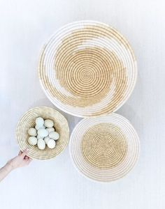 Woven Basket   The Little Market // Refugee-Made Goods Supporting Displaced Artisans Around The World on The Good Trade