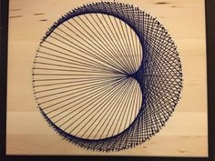 Geometric cardioids are an optical illusion because there are actually no curves and its created strictly with straight lines. Customizable to any stain of wood and any color string, this piece is great for modernizing any room. Wood size: 20x16 Any questions, please contact sales@stringkits.com and use String Art in the subject line. Thanks! :) Check out www.stringkits.com for more information regarding string art and check out the rest of our products, templates, supplies, etc