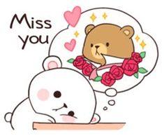 Bear Couple : Milk & Mocha by Shortie sticker