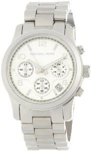 Women's Stainless Steel Quartz Chronograph Silver Tone Dial: Watches: Amazon.com I want! <3