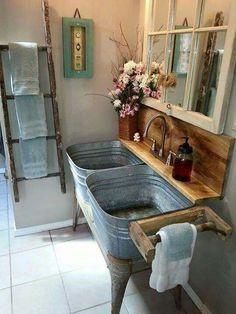 Hillbilly Wash room