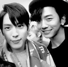 Kim Himchan and Bang Yongguk