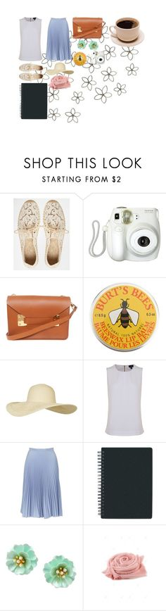 """A walk in the flower garden."" by quantamleap ❤ liked on Polyvore featuring WALL, Soludos, Branca, Sophie Hulme, Burt's Bees, Topshop and Armani Jeans"