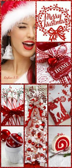 '' Christmas ~ Red & White '' by Reyhan S.D.