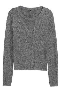 Bordáskötött pulóver