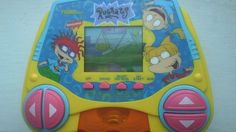 VINTAGE 1997 Electronic Game Handheld Tiger Rugrats hand-held Sound Video Tommy #TigerElectronics Rugrats, Nintendo Consoles, Growing Up, Hold On, Video Games, Vintage, Pictures, Ebay, Photos