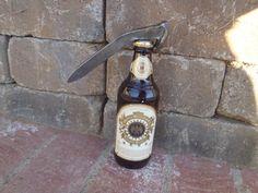 Custom made Railroad spike bottle opener from reclaimed railroad spikes. by DumpsterDogArt on Etsy
