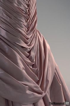 Detail - Charles James evening dress, 1955    From the Museum at FIT