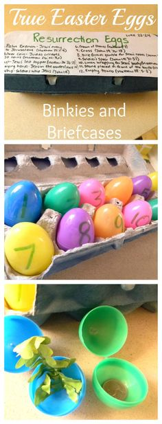 Resurrection Eggs are a fun Easter craft that can be used year after year  and give kids perspective on the true meaning of the holiday.