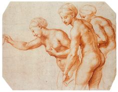 Raphael, Study for the Three Graces, 1518