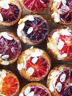 Blood Orange, Almond and Brown Sugar Tea Cakes - These are honestly the tastiest, moistest cakes I've baked in ages. They're as close to perfect as you're going to get. I might be in love.