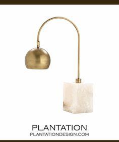 Kayden Marble Task Lamp