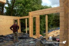 Maison bois : pluie = arrêt du chantier :(