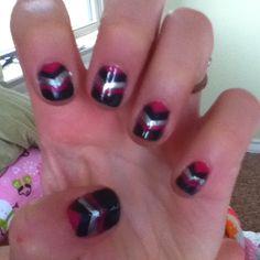 Lyssas fingernails :) #nailart