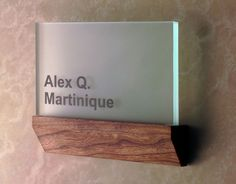 Law's Architectural Signs in Miami, Florida - Interior signs and signage systems