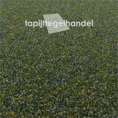Desso Sienna 7283 groen/blauw gemeleerd tapijttegel