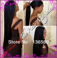 Versitile Sew In Two Way Sew In Middle Part Half Up