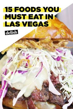 15 things to eat in Vegas Las Vegas Eats, Las Vegas Food, Vegas Fun, Las Vegas Travel Guide, Las Vegas Vacation, Vacation Spots, Vacation Ideas, Girls Vacation, Las Vegas Attractions