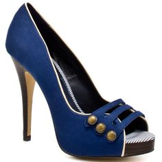 #shoes CHARLES BY CHARLES DAVID : CADDY - NAVY