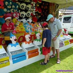 Who doesn't love trying their hand at the clown game when attending a carnival?  Just some of the fun we had att #santaschristmascarnival - - - #thisiswa #westernaustralia #seeaustralia #australia #justanotherdayinwa #perthnow #perth #weekendfun #weekend #familytime #kids #familyfunday #familyfun #travelblogger #daytrip #carnival #fair #kidsfun #perthblogger #traveltipsblogger #familytravelblogger #familydaytrip #toddlersontour #traveltips4trip