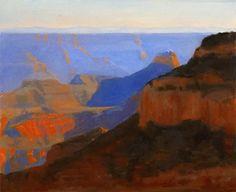 Grand Canyon North Rim by  Prentice Studio Oil ~ 8 x 10
