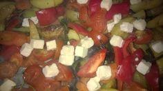 Tupun tupa: Uuniperunat-kasviksilla
