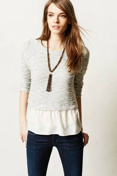 Janie Layered Pullover