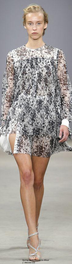 J. Mendel Fall 2016 Ready-to-Wear Fashion Show