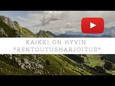 Rentoutusharjoitus | Kaikki on hyvin 16min | Tytti Koro - YouTube Mindfulness, Meditation, Relax, Classroom, Youtube, Kids, Class Room, Young Children, Boys