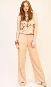 Caitlyn Jumpsuit in Shell  http://www.wrato.com/content/caitlyn-jumpsuit