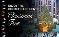 The 80th Rockefeller Center Christmas Tree (2013) was lit by the 30,000 energy efficient LED lights.
