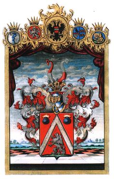 Austrian Grant of Nobility and of Arms to Eduard Höger von Högersthal, 1830.
