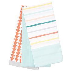 Charming Modern Folk 3 Pack Jumbo Tea Towels | Target Australia
