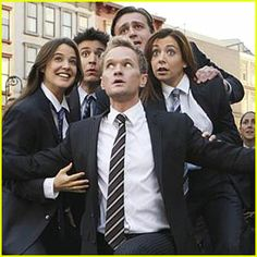 How I Met Your Mother- Nothing suits me like a suit! My FAVORITE episode!