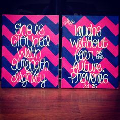 Canvased quotes; want this one for my dorm room.