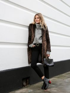 Time for Fashion » 3 Ways to Wear the Leopard Coat