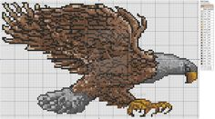 Storybook Weaver - Bald Eagle by Makibird-Stitching.deviantart.com on @deviantART